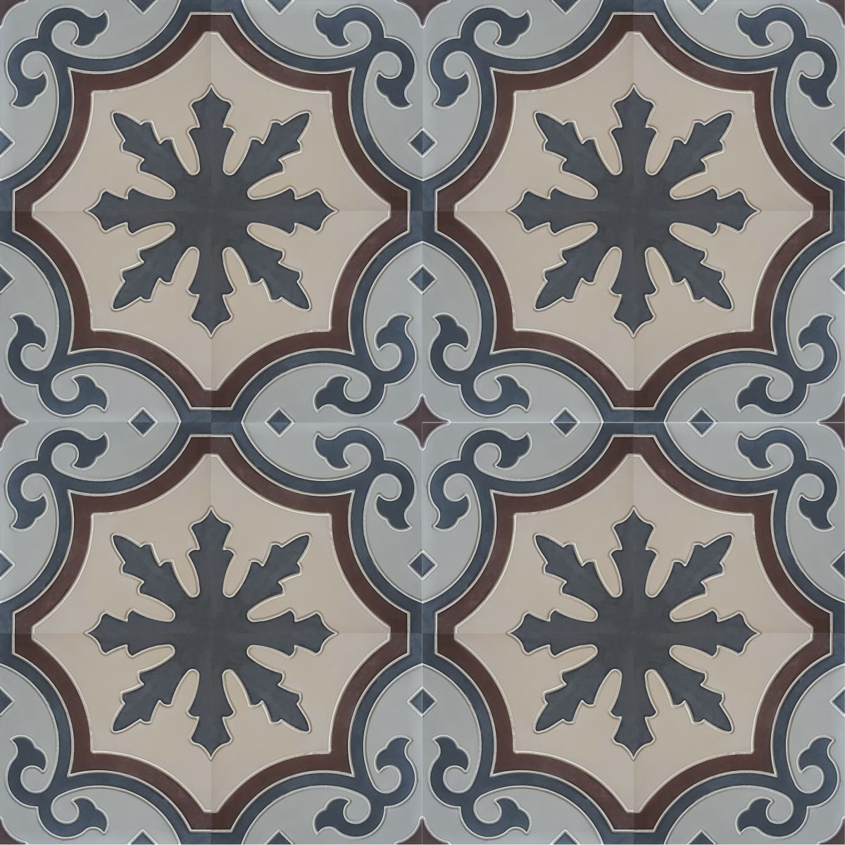 MOROCCAN TILES out of SISTROM CONCRETE