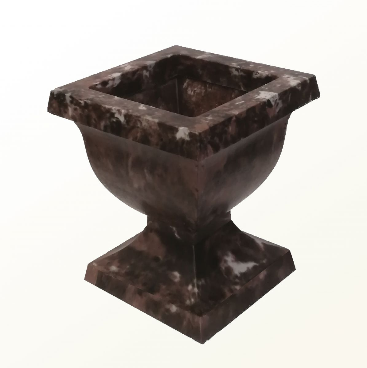 New product. Square flowerpot.